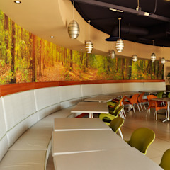 Swaziland Revenue Authority Modern dining room by Durban Shopfitting & Interiors Modern