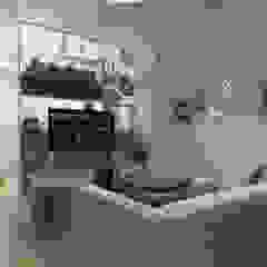 Skandynawski salon od Swish Design Works Skandynawski