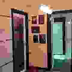 T2, com Garagem + Grill - Casa em Madeira - Tarouca por Breeze House Moderno
