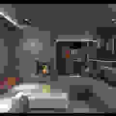 Projekt Wnętrz Domu Nowoczesna piwnica win od BILAR Nowoczesny
