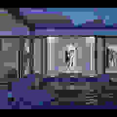 Projekt Wnętrz Domu Nowoczesny basen od BILAR Nowoczesny