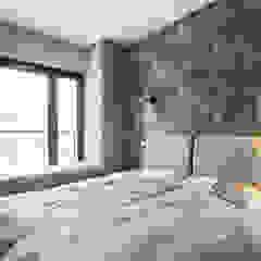 VINTAGE VIBES Egzotyczna sypialnia od KODO projekty i realizacje wnętrz Egzotyczny