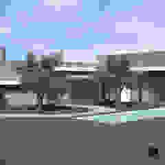 Casa dos Sobreiros | Sesimbra por ATELIER OPEN ® - Arquitetura e Engenharia Campestre Derivados de madeira Transparente