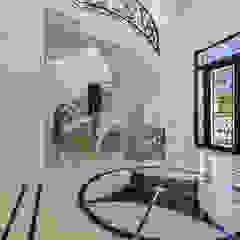 Vivenda V6 Quinta do Lago Corredores, halls e escadas clássicos por AG FOTOGRAFIA Clássico