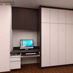 Swish Design Works Modern Study Room and Home Office