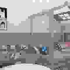 Dormitório infantil Quarto infantil escandinavo por YasminK Arquitetura Escandinavo MDF