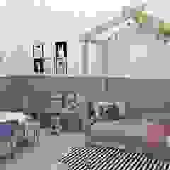 Dormitório infantil Quarto infantil escandinavo por YasminK Arquitetura Escandinavo