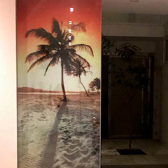 Tropical style doors by Blow Deco Pics Tropical