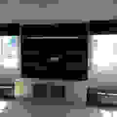 luxe interior Salas/RecibidoresMuebles para televisión y equipos Contrachapado Multicolor