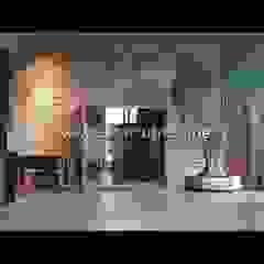 Paredes y pisos de estilo mediterráneo de Kültür Tuğlası Mediterráneo