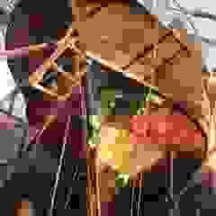 Iates e jatos asiáticos por Donkişot Ahşap Dünyası Asiático Madeira Acabamento em madeira