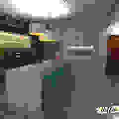 من Hellen Assis - Designer de Interiores ريفي خشب Wood effect