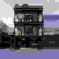 de AXS Arquitectos Industrial Hierro/Acero