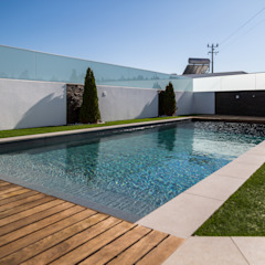 Piscina Evolution por Piscinas Imperial Minimalista