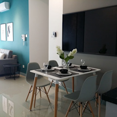 Property Styling for Investor Scandinavian style dining room by YL Modernize Home Enterprise Scandinavian