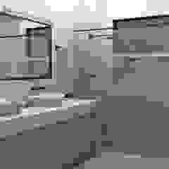 Banheiro Casal Banheiros minimalistas por YasminK Arquitetura Minimalista Mármore
