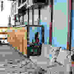 Un Departamento muy Chic! Balcones y terrazas eclécticos de Azul Ecléctico
