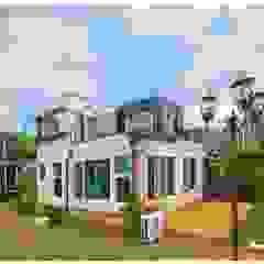 공기순환이 잘 되는 모듈러주택 by 공간제작소(주) 모던