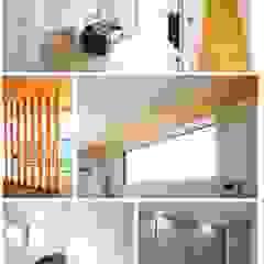 โดย 공간제작소(주) โมเดิร์น ไม้ Wood effect