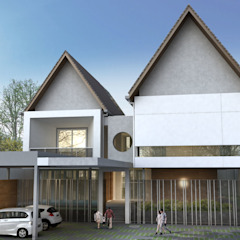Mr.A House Oleh CV Berkat Estetika Modern Beton Bertulang