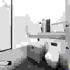 APARTAMENT W KRATKĘ Eklektyczna łazienka od LESINSKA CONCEPT Eklektyczny