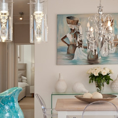 Beach House Glam Guest House - Onrus Eclectic style dining room by Overberg Interiors Eclectic