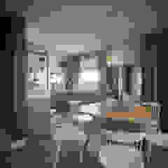 Single Family House - Interior Design İskandinav Mutfak Onur Eroğuz Mimarlık Hizmetleri İskandinav