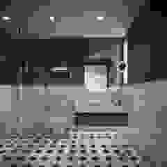 Single Family House - Interior Design İskandinav Banyo Onur Eroğuz Mimarlık Hizmetleri İskandinav