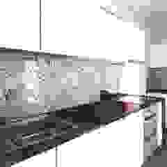 DUOLAB Progettazione e sviluppo Built-in kitchens Tiles White