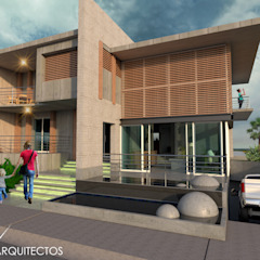 od Eduardo Zamora arquitectos Minimalistyczny Beton
