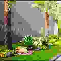 Kontraktor Taman Surabaya Oleh Tukang Taman Surabaya - Tianggadha-art Mediteran Batu