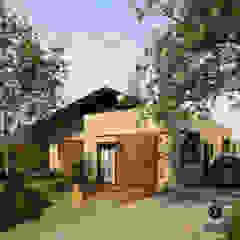 Casa Santo Amaro por Referência Arquitetura Minimalista Tijolo