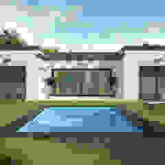 by Trenta Casas Prefabricadas de Hormigón en Madrid Modern Concrete