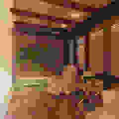 Office at Pluit Kantor & Toko Modern Oleh PT VISIO GEMILANG ABADI Modern Kayu Lapis