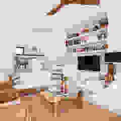Ruang Keluarga Gaya Mediteran Oleh Estatiba construcción, decoración y reformas en Ibiza y Valencia Mediteran