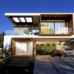 من Gelker Ribeiro Arquitetura | Arquiteto Rio de Janeiro بحر أبيض متوسط خشب Wood effect