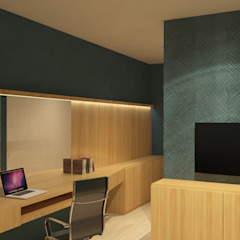 Luxury Bedroom in Salatiga Hotel Minimalis Oleh TIES Design & Build Minimalis