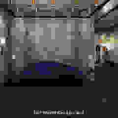 Old World Restaurant Moderne gastronomie van Deev Design Modern IJzer / Staal