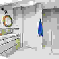 Apartament 120 Eklektyczna łazienka od emDesign home & decoration Eklektyczny