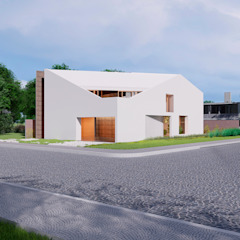 CASA SATOLEP por Franthesco Spautz Arquitetura Minimalista