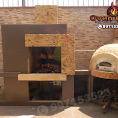 by Oven grill Minimalist کنکریٹ