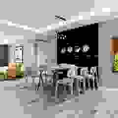 nội thất căn hộ hiện đại CEEB Modern Dining Room