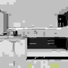 nội thất căn hộ hiện đại CEEB Кухня