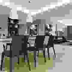 nội thất căn hộ hiện đại CEEB Їдальня