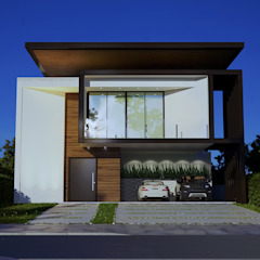 by Gelker Ribeiro Arquitetura | Arquiteto Rio de Janeiro Modern Wood Wood effect