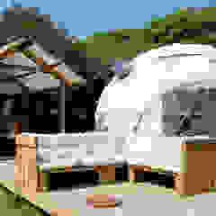Geo Domes Portuga Locais de eventos rústicos por domehouses Rústico