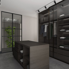Ruang Ganti Modern Oleh Studio Mariska Jagt Modern