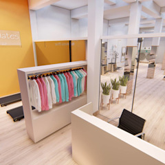 Studio de Pilates Fitness moderno por Igor Cunha Arquitetura Moderno