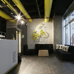 Urban Riders Modern Fitness Odası GRAVITY DESIGN & CONSULTANCY Modern