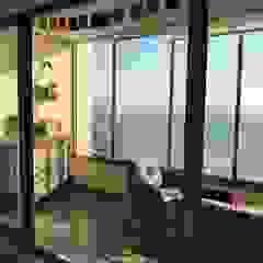 Balkon, Beranda & Teras Modern Oleh Kaa Interior | Arquitectura de Interior | Santiago Modern